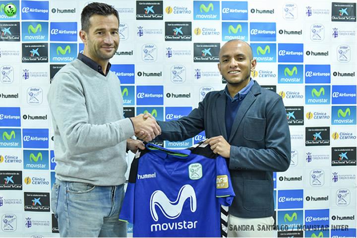 Serginho nuevo jugador de Movistar Inter