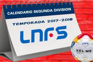 Calendario Segunda Division LNFS