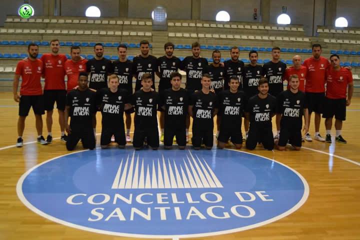Trabajo y amistosos del Santiago Futsal