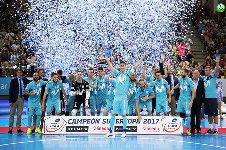 Movistar Inter se lleva la Supercopa