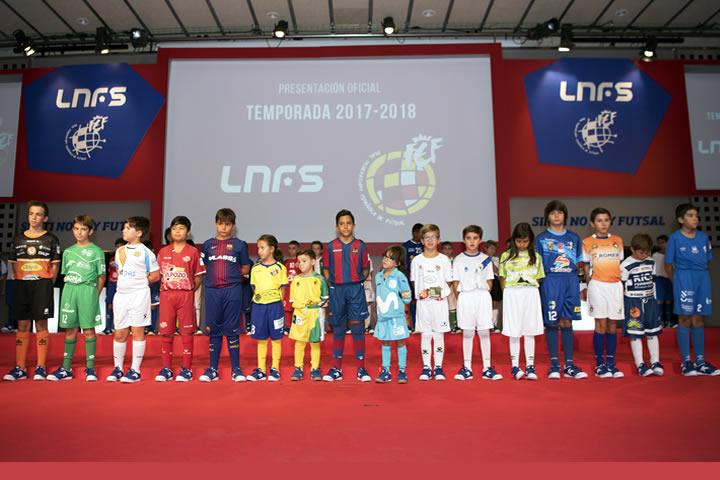 La LNFS presento la temporada 2017-2018