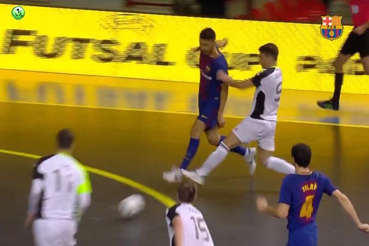Goleada del FC Barcelona al Gyor