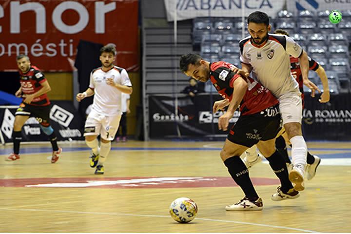 Tablas entre Santiago Futsal y Zaragoza