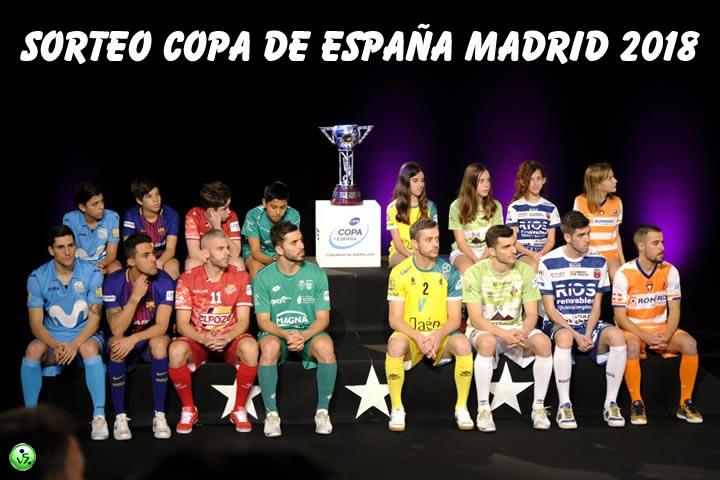 Realizado el sorteo de la Copa de España 2018