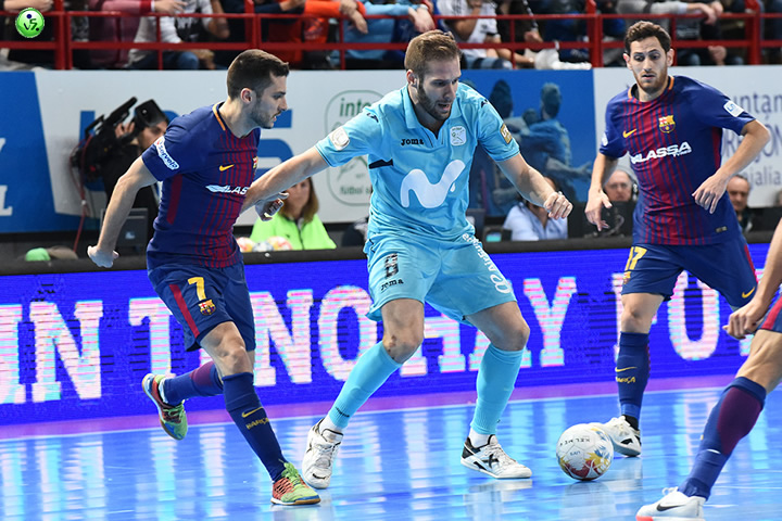 Final Liga entre Movistar Inter y FC Barcelona