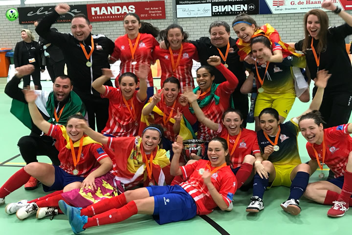 At Navalcarnero campeon European womens