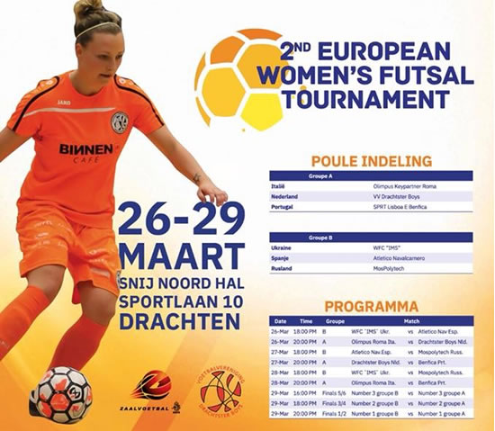 Torneo Europeo Femenino de futsal