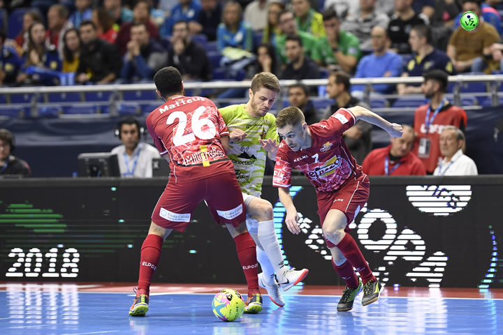 Palma Futsal rompe la barrera de Cuartos