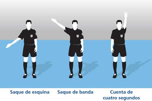 señales arbitro 3