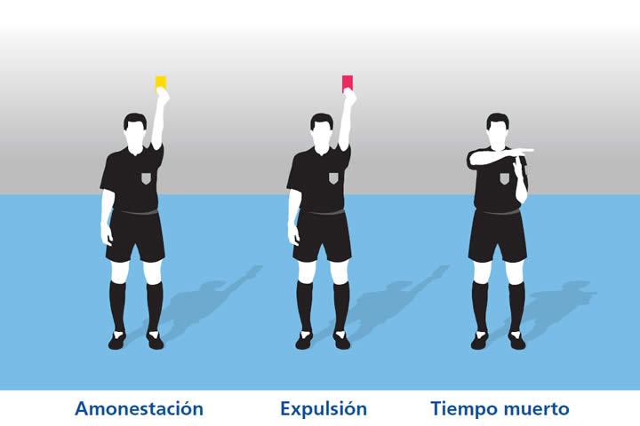 señales arbitro 6