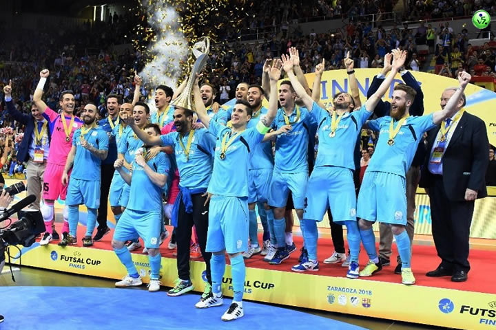 Movistar Inter Campeon de Europa 2018