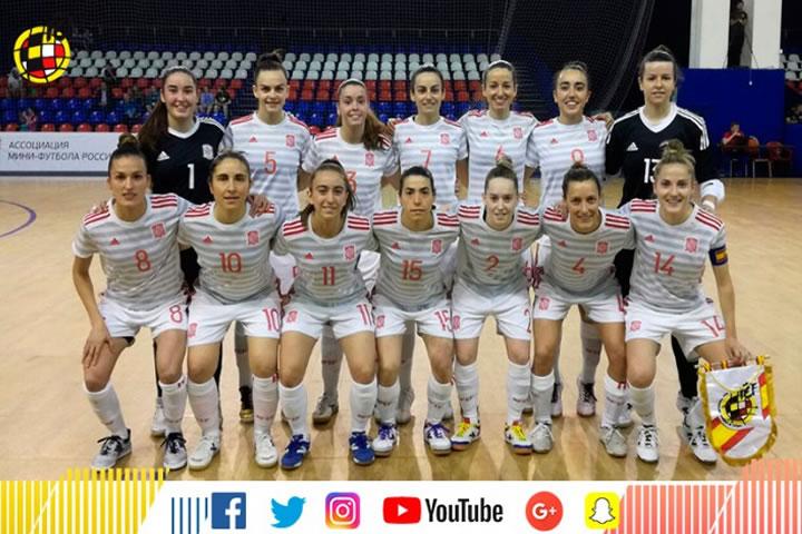 España-Rusia final del Torneo de Moscu