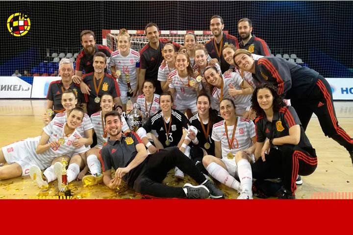 La Seleccion Femenina campeona en Moscu
