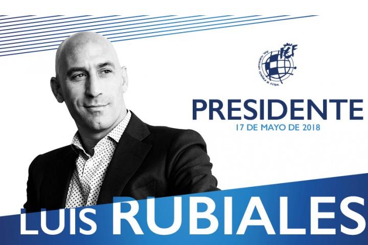 Luis Rubiales nuevo Presidente de la RFEF