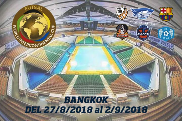 Tailandia acogera la Copa Intercontinental