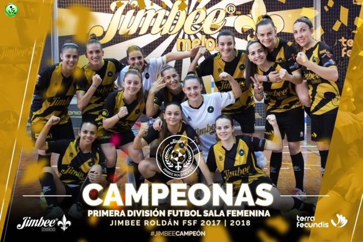 El Jimbee Rodan Femenino Campeon de liga