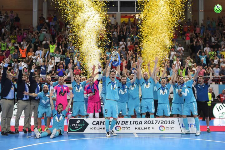 Movistar Inter Campeon de Liga