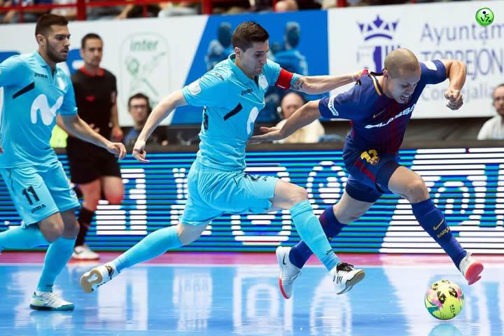 Movistar Inter a un paso del Titulo de Liga