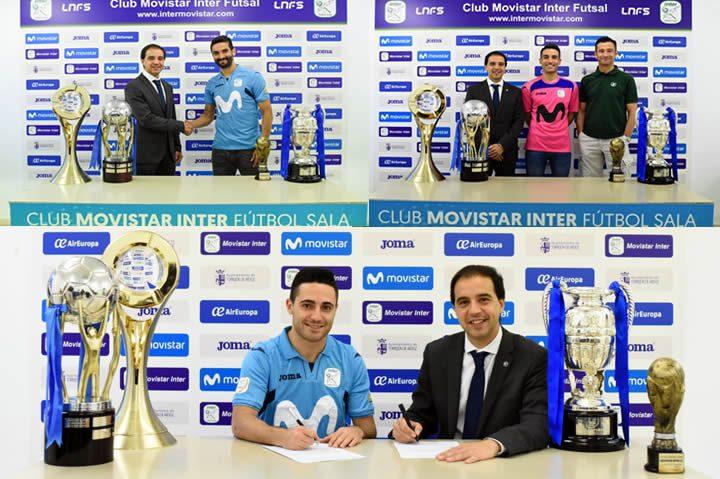Humberto Alex y Borja renuevan con Inter