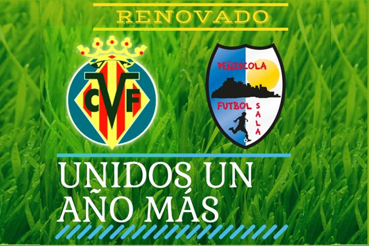 Peñiscola y Villareal renuevan convenio