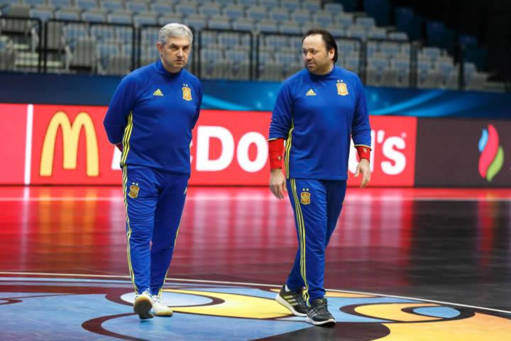 Nuevo Staff Tecnico de Futsal en la RFEF