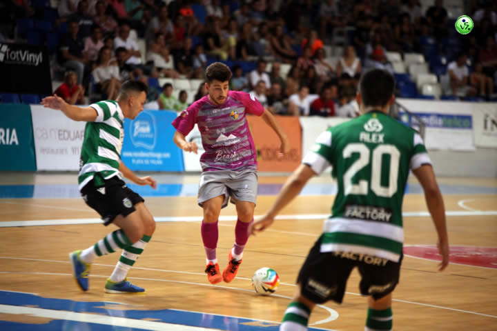 Palma cae ante el Sporting portugues