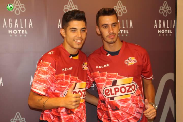Dario y Alex juventud para El Pozo Murcia