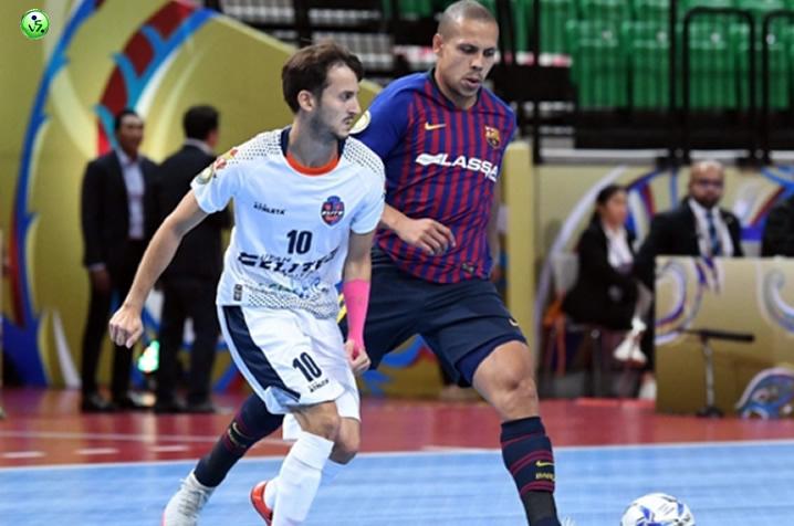 Victoria del Barça en la Intercontinental