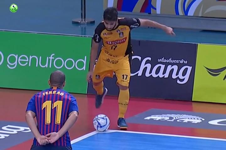 Magnus Futsal vence al FC Barcelona