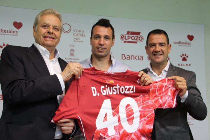 El Pozo presenta Diego Guistozzi