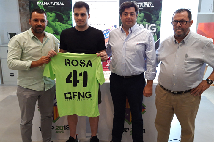 Palma Futsal presenta al argentino Marti Rosa