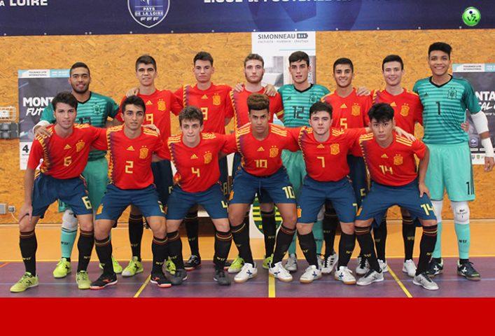 España Sub 19 apabulla en Montaigu