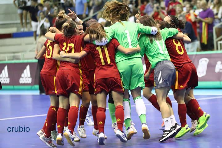 España se clasifica para la final del Europeo