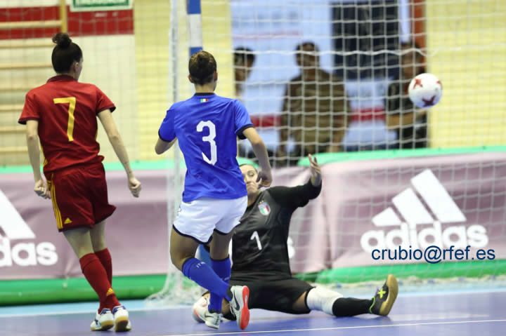 Spain-Italia-Femenino Europeo