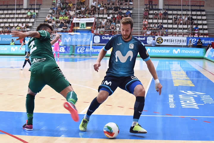 Movistar Inter vence a Osasuna Magna