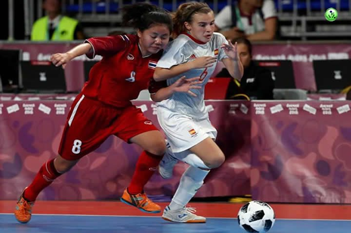 España Femenina VS Tahilandia