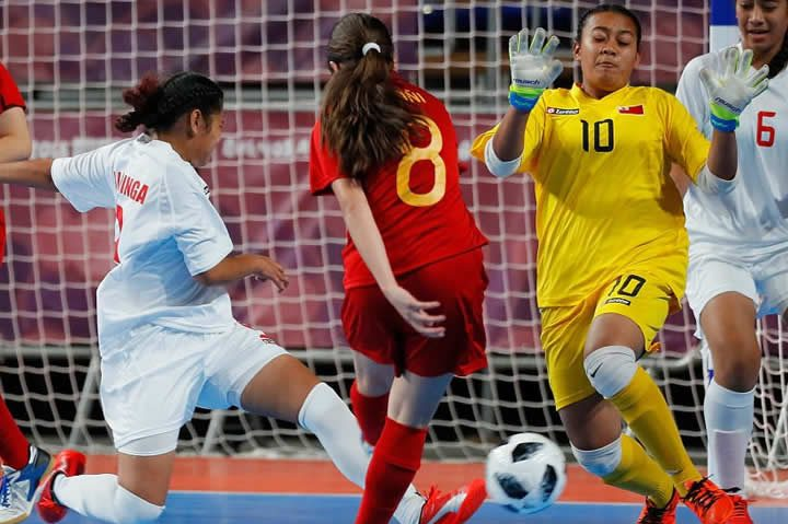 Spain Femenina VS Tonga