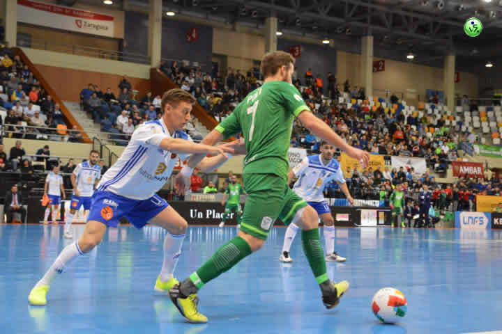 Movistar inter golea al Emotion Zaragoza