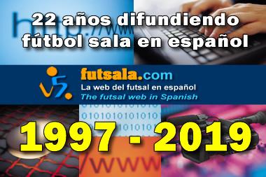 22 años difundiendo futsal