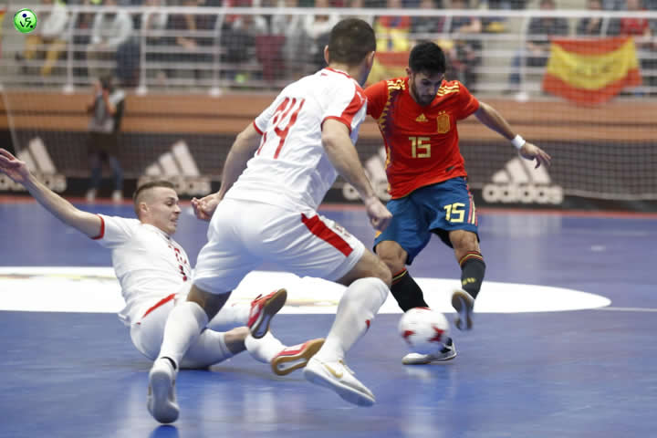 España VS Serbia2 2018