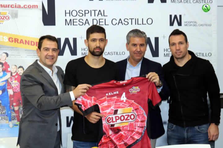 Felipe Valerio nuevo jugador de El Pozo
