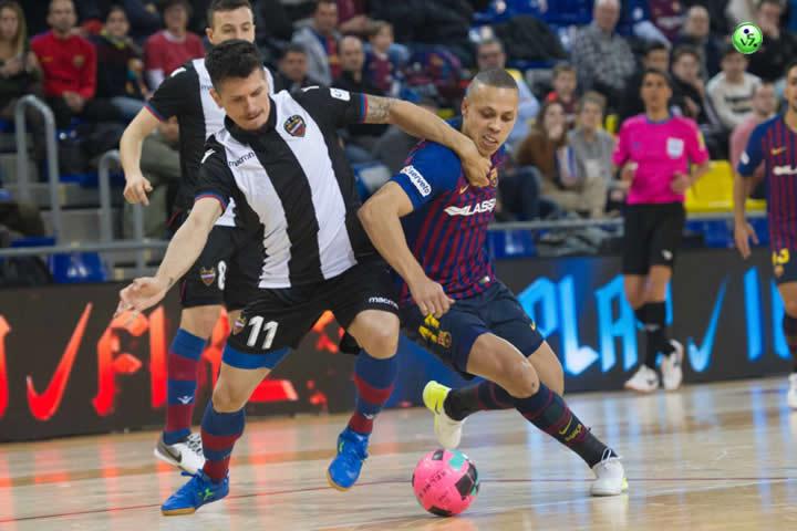 J19 LNFS Barcelona VS Levante