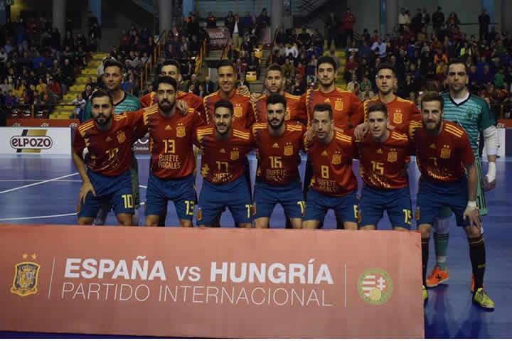 Goleada de España a Hungria