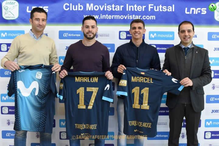 Marcel y Marlon nuevos jugadores de Inter