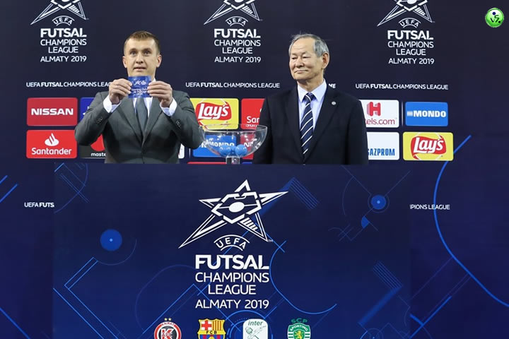 Sorteo Final Four Uefa Futsal