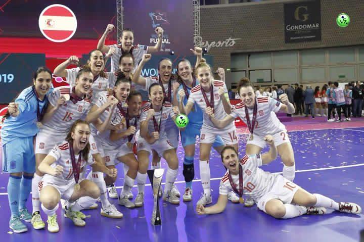 La Seleccion Femenina Campeona de Europa