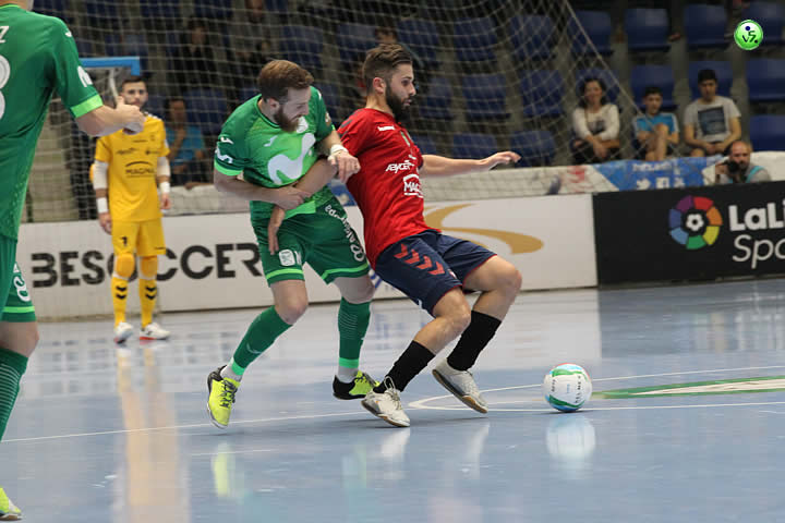 Tablas entre Osasuna Magna y Movistar Inter