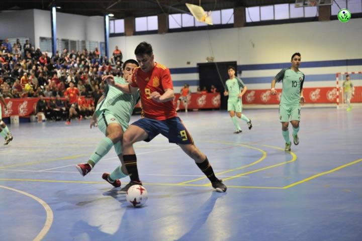 España Sub19 supera a Portugal