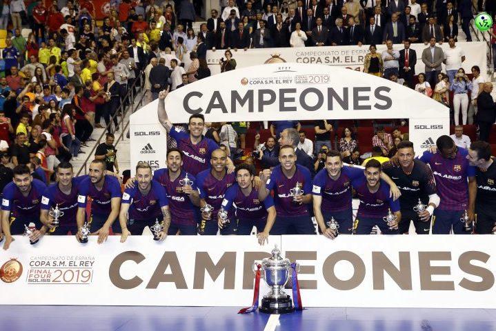El Barcelona remonta ganando la Copa del Rey