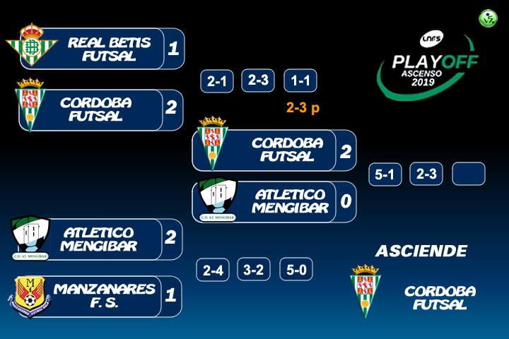El Córdoba asciende a Primera Division